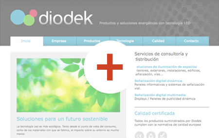 preview de disseny de pàgines web diodek