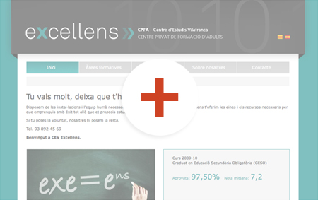 preview de disseny de pàgines web excellens