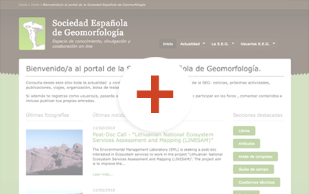 preview de disseny de pàgines web geo