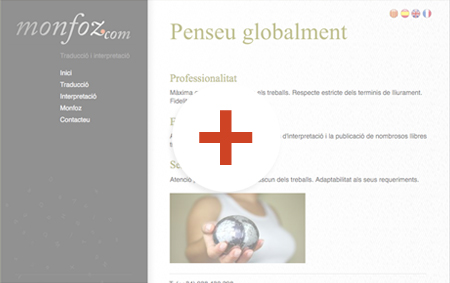 preview de disseny de pàgines web monfoz